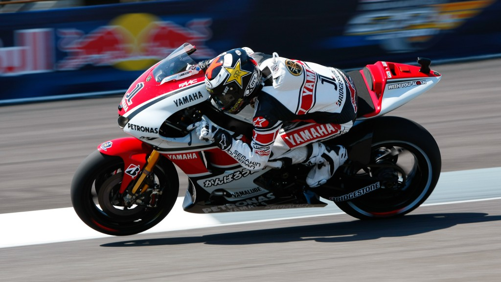 Jorge Lorenzo, Yamaha Factory Racing, Indianapolis RAC