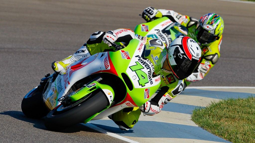 Randy de Puniet, Pramac Racing Team, Indianapolis QP