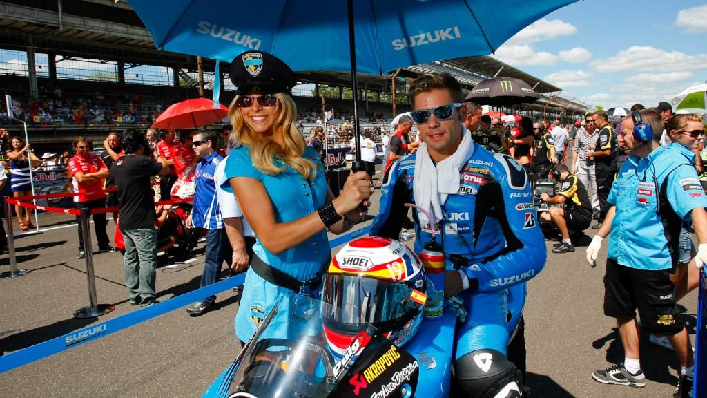 Alvaro Bautista, Rizla Suzuki MotoGP, Indianapolis RAC