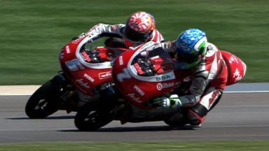 Indianapolis 2011 - 125cc - Race - Action - Zarco and Vazquez