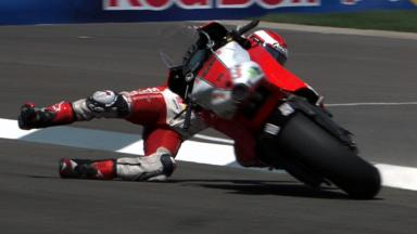Indianapolis 2011 - MotoGP - Race - Action - Hector Barbera - Crash