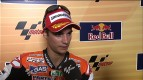 Pedrosa reacts to second
