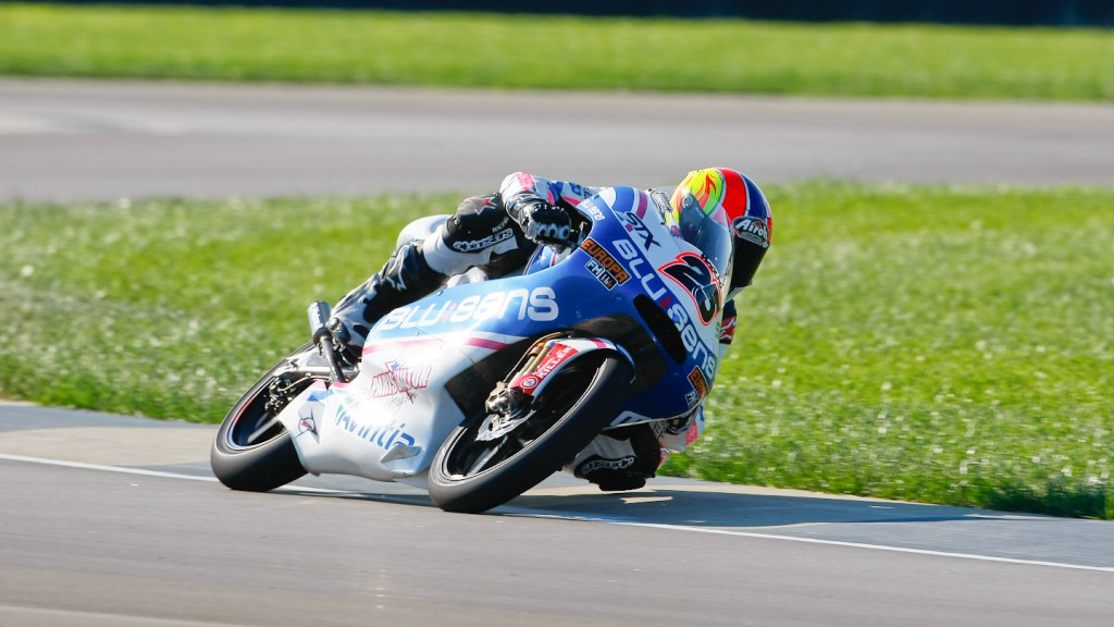 Maverick Viñales, Blusens by Paris Hilton Racing, Indianapolis RAC