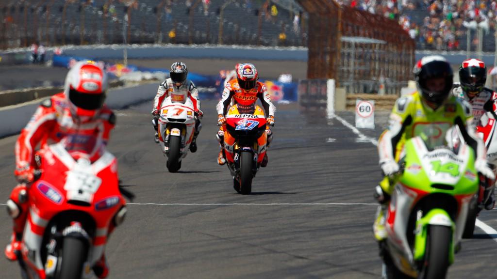 Casey Stoner, Repsol Honda, Indianapolis RAC