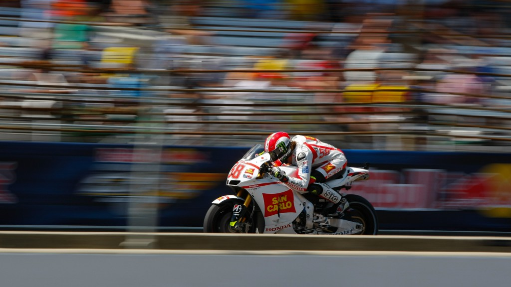 Marco Simoncelli, San Carlo Honda Gresini, Indianapolis RAC