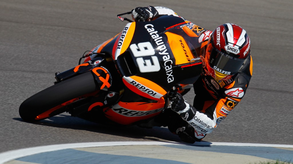 Marc Marquez, Team CatalunyaCaixa, Indianapolis WUP
