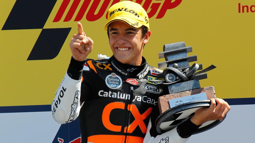 Marc Marquez, Team Catalunya Caixa Repsol, Indianapolis RAC