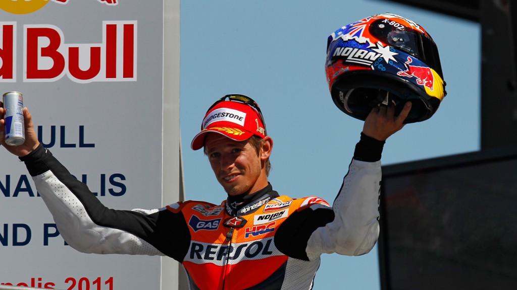Casey Stoner, Repsol Honda Team, Indianapolis RAC