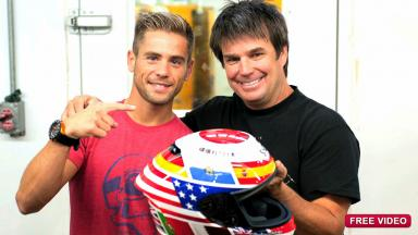 Bautista´s Laguna Seca 'Hope for Japan' helmet