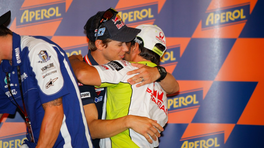 Stoner, Capirossi, Repsol Honda, Pramac Racing Team, Press Conference, Misano