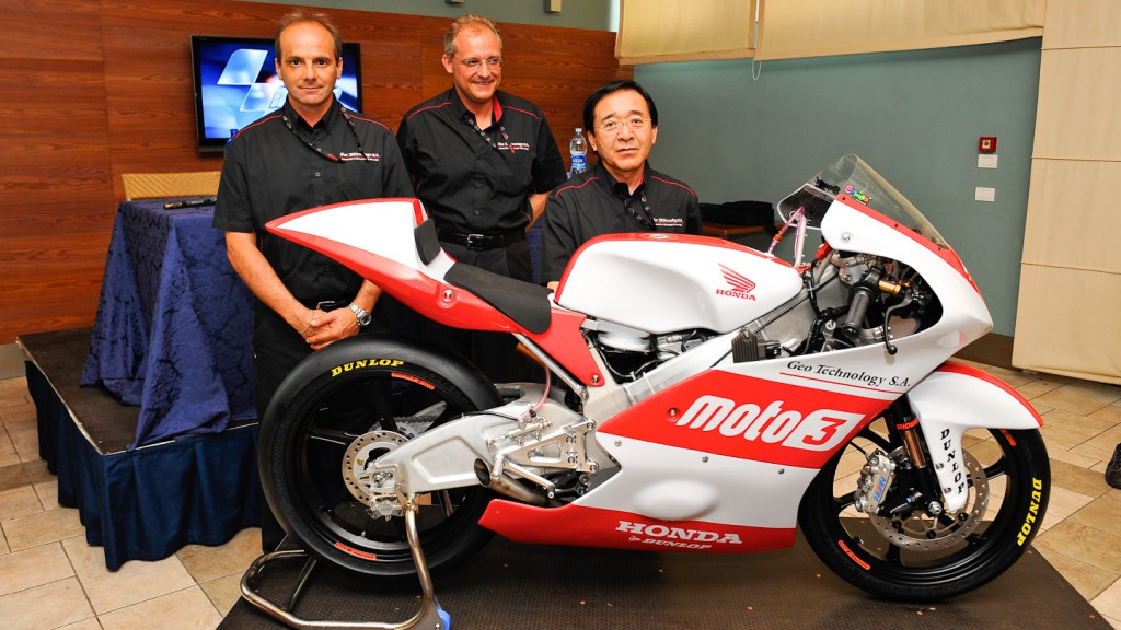 Geo Technology Moto3 project unveiled, Misano