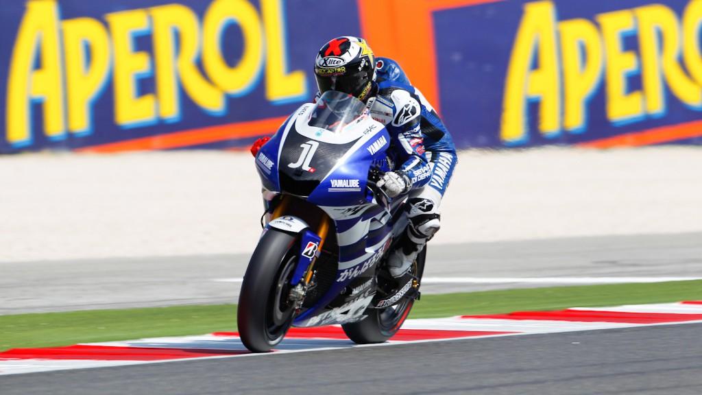 Jorge Lorenzo, Yamaha Factory Racing, Misano FP2