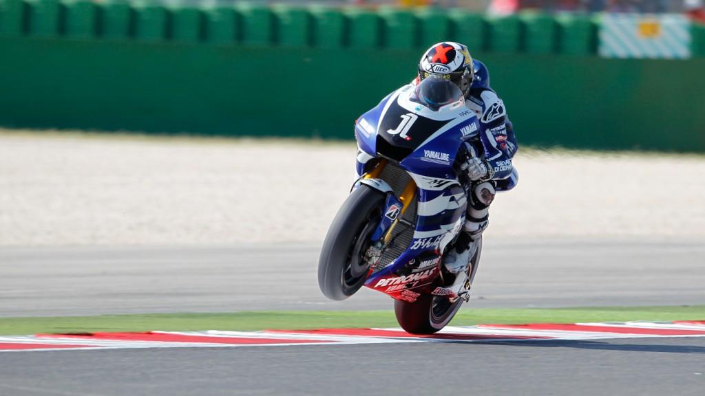 Jorge Lorenzo, Yamaha Factory Racing, Misano FP1
