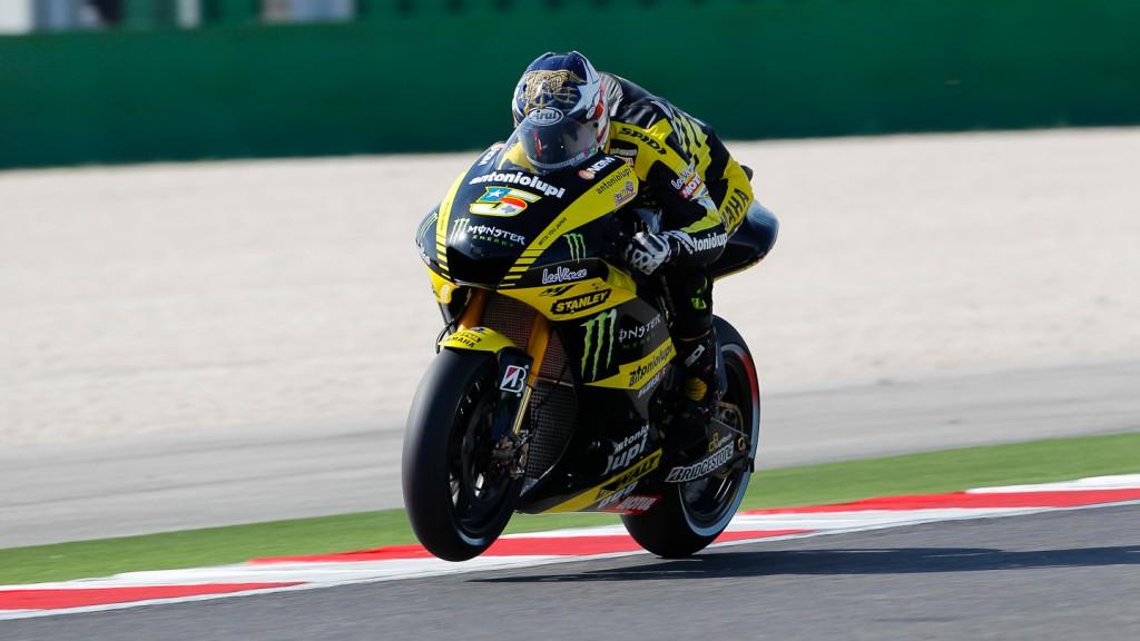 Colin Edwards, Monster Yamaha Tech 3, Misano FP2