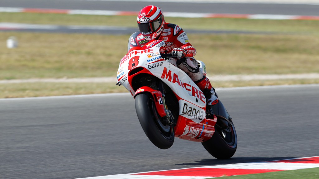Hector Barbera, Mapfre Aspar Team, Misano FP2