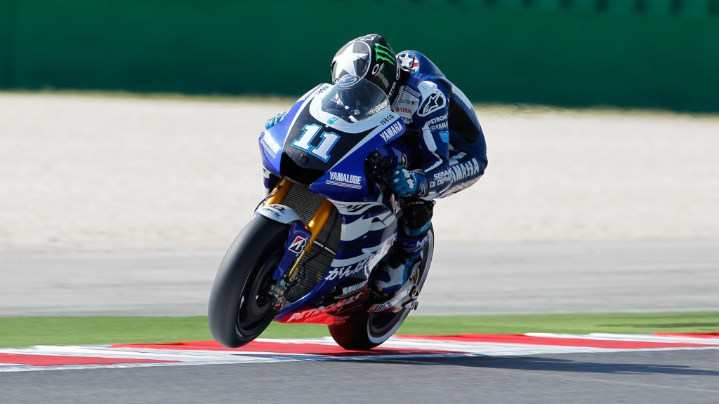 Ben Spies, Yamaha Factory Racing, Misano FP2