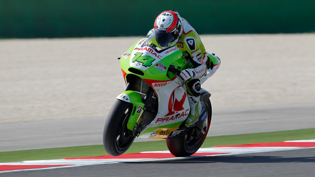 Randy de Puniet, Pramac Racing Team, Misano FP2
