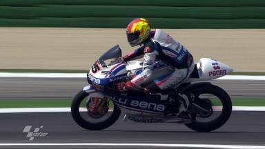 Misano 2011 - 125cc - FP2 - Action - Maverick Viñales