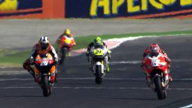 The Gran Premio Aperol di San Marino e della Riviera di Rimini kicked off with Repsol Honda's Casey Stoner grabbing the top spot ahead American Ben Spies and Dani Pedrosa.
