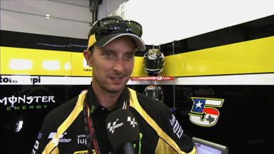 Edwards reviews Misano opening sessions