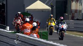 El piloto leridano ha firmado el mejor crono en la primera tanda libre de la categoría de Moto2 del Gran Premio Aperol de San Marino y de la Riviera de Rimini por delante de Jules Cluzel y Aleix Espargaró.