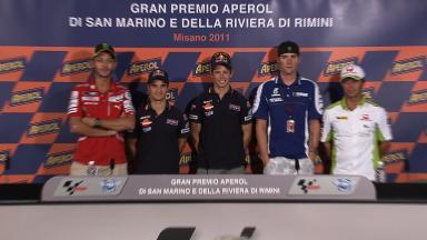 GP Aperol di San Marino e della Riviera di Rimini QP Press Conference
