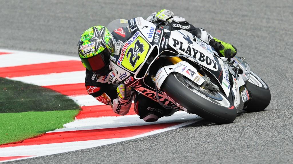 Toni Elias, LCR Honda MotoGP, Misano FP2