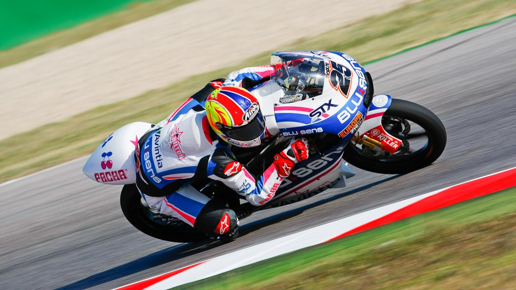 Maverick Viñales, Blusens by Paris Hilton Racing, Misano FP1