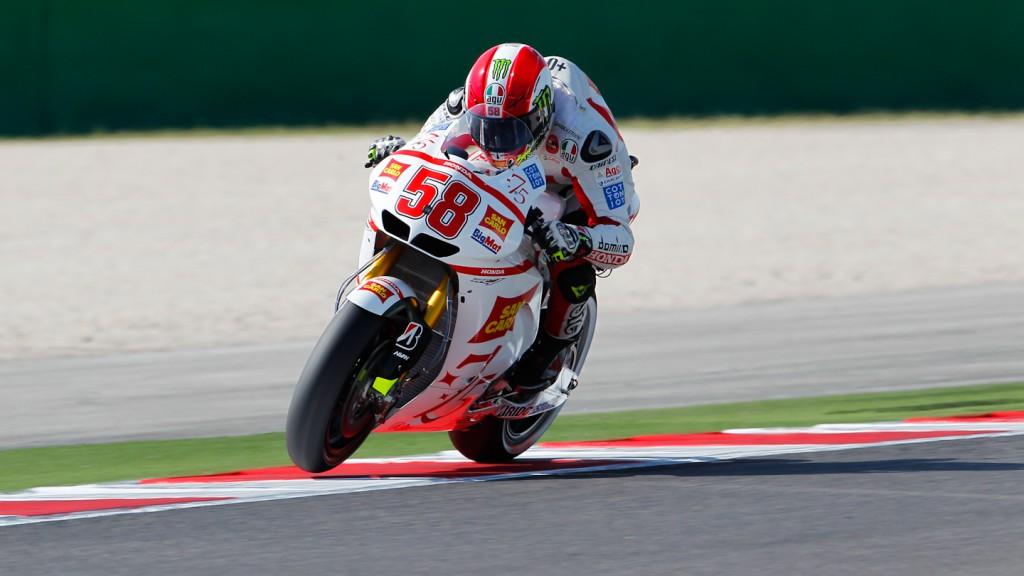 Marco Simoncelli, San Carlo Honda Gresini, Misano FP1