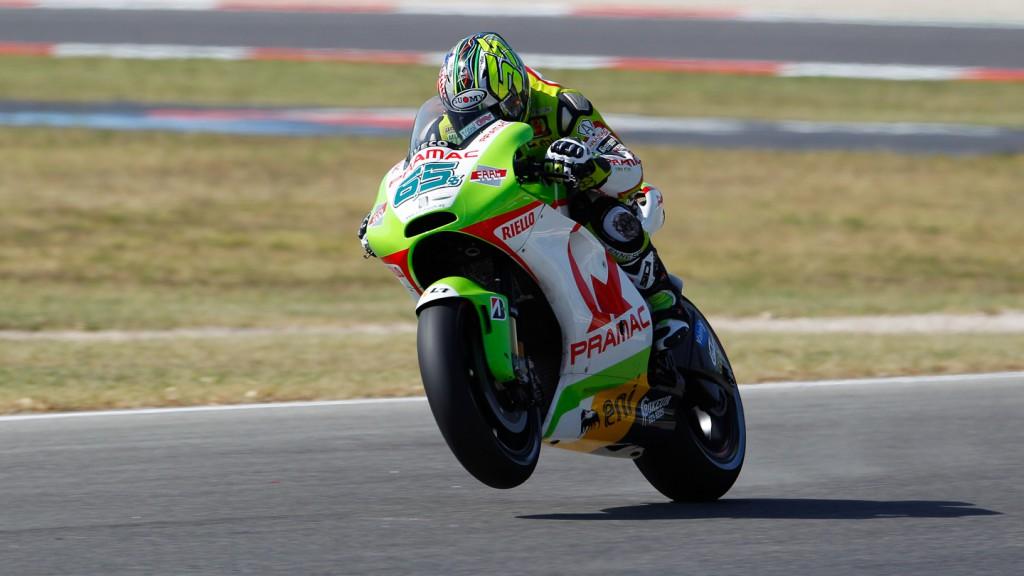 Loris Capirossi, Pramac Racing Team, Misano FP2