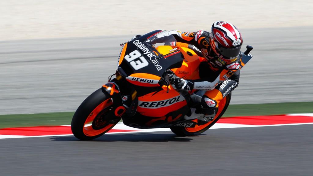 Marc Marquez, Team CatalunyaCaixa, Misano FP1