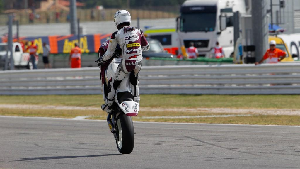 Mashel Al Naimi, QMMF Racing Team, Misano FP1