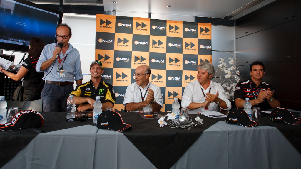 Colin Edwards to join forces with NGM Forward Racing Team in 2012