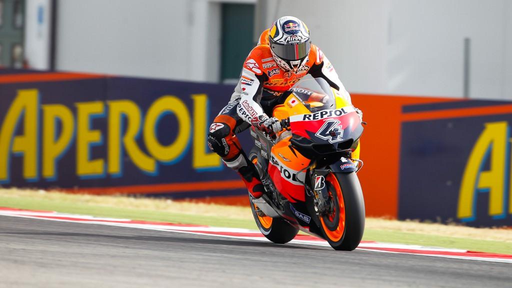 Andrea Dovizioso, Repsol Honda Team, Misano QP
