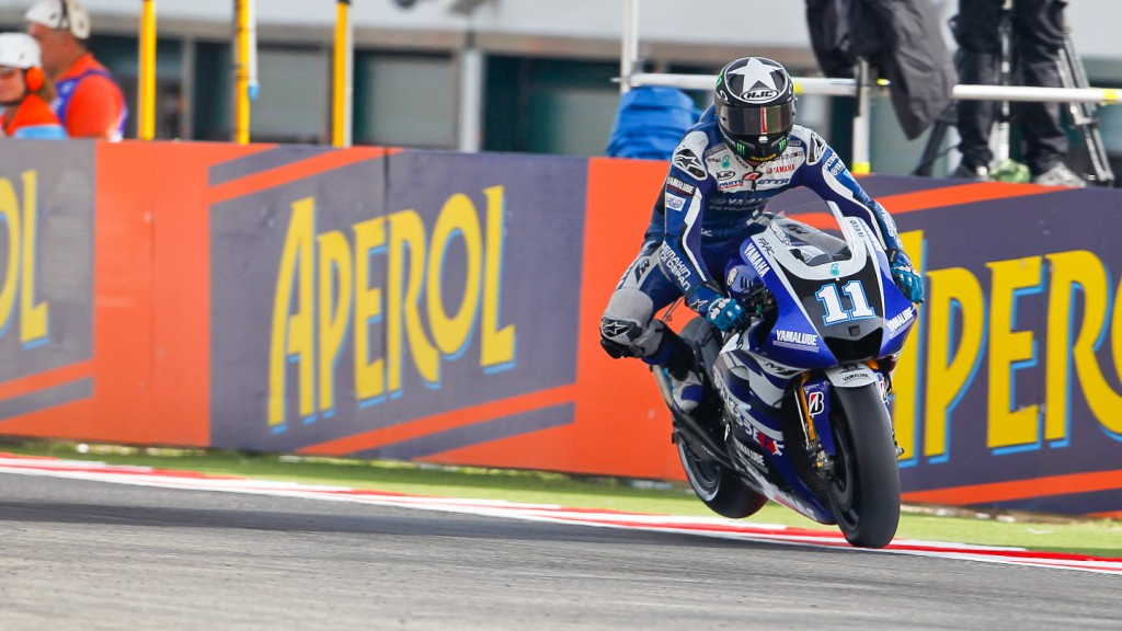 Ben Spies, Yamaha Factory Racing, Misano QP