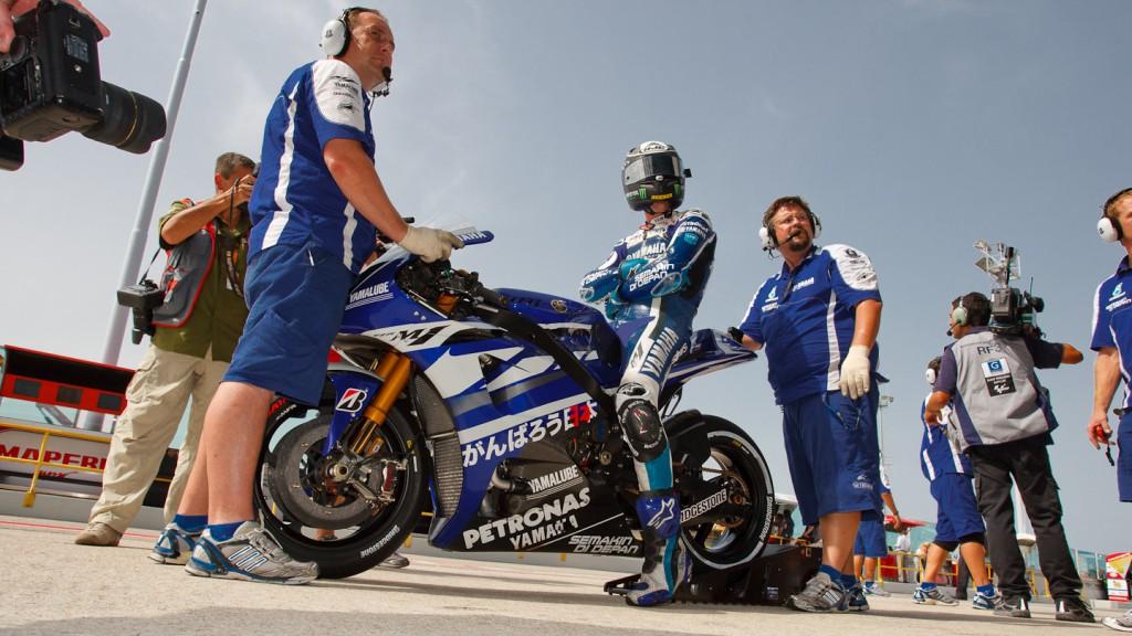 Ben Spies, Yamaha Factory Racing, Misano QP
