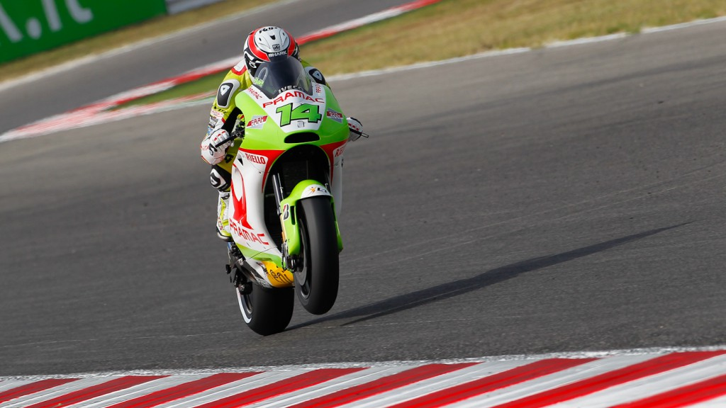 Randy de Puniet, Pramac Racing Team, Misano QP