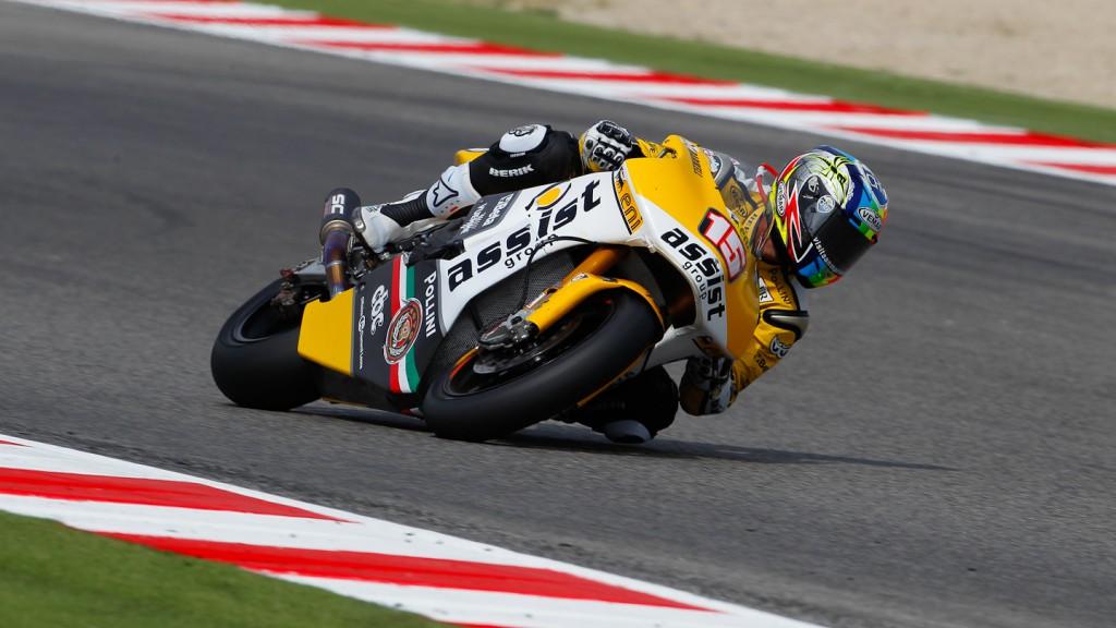 Alex de Angelis, JiR Moto2, Misano QP