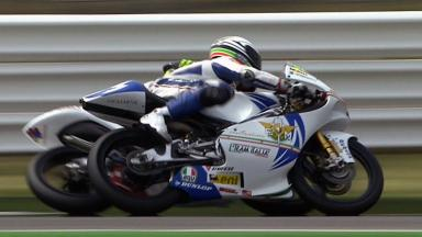 Misano 2011 - 125cc - QP - Action - Cortese and Morciano