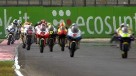 総合3番手のザルコが4人によるバトルに競り勝ち、イタリアGP以来となる今季2度目のポールポジションを獲得。ファウベル、テロール、コルテセ、ケントが続き、ワイルドカードのポポフが6番手に進出した。
