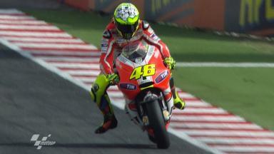 Misano 2011 - MotoGP - FP3 - Action - Valentino Rossi