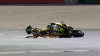 Misano 2011 - MotoGP - QP - Action - Cal Crutchlow - Crash