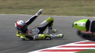 Misano 2011 - MotoGP - QP - Action - Randy De Puniet - Crash