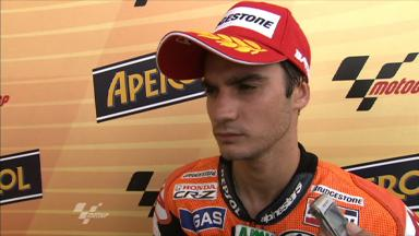 Pedrosa reviews Misano qualifying