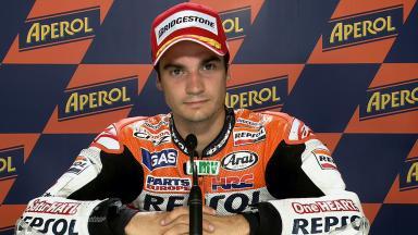 Misano 2011 - MotoGP - QP - Interview - Dani Pedrosa