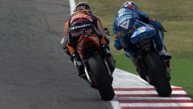 Misano 2011 - Moto2 - FP3 - Action - Marc Marquez and Pol Espargaro