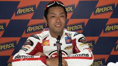 Misano 2011 - Moto2 - QP - Interview - Yuki Takahashi