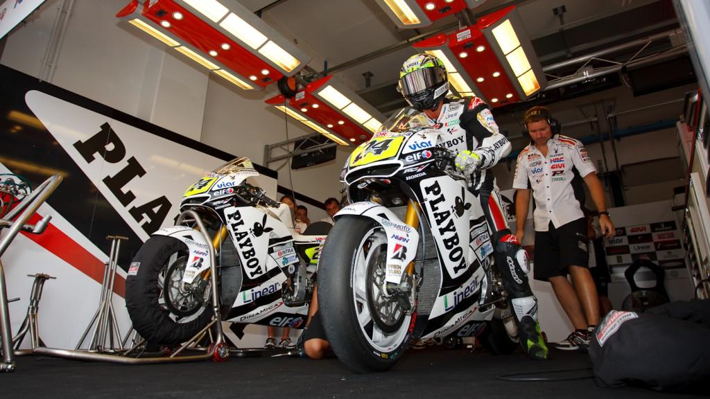 Toni Elias, LCR Honda MotoGP, Misano QP