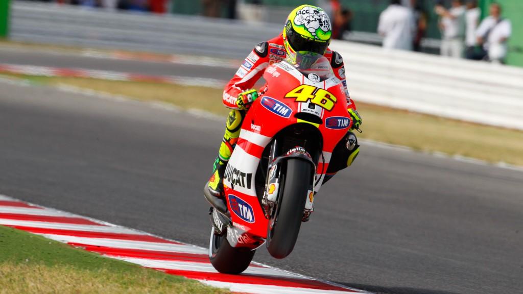 Valentino Rossi, Ducati Team, Misano QP