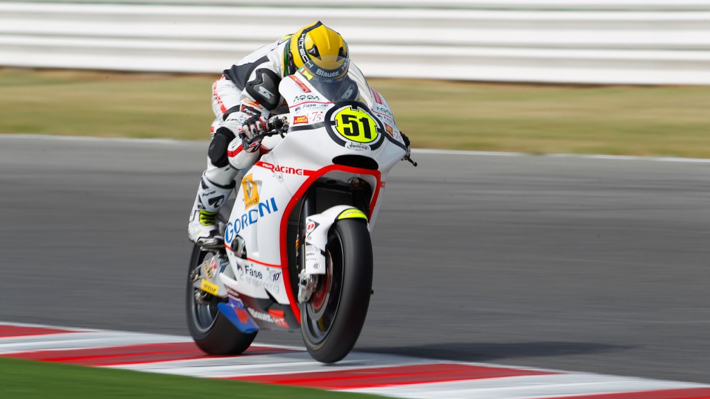 Michele Pirro, Gresini Racing Moto2, Misano QP